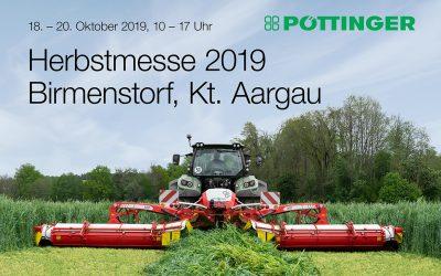 Pöttinger Herbstmesse 18. – 20. Oktober 2019